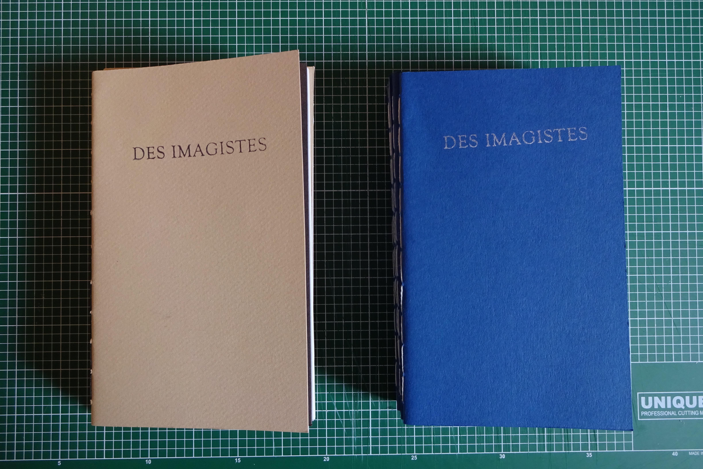 Des Imagistes: an anthology, 2018